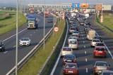 Autostrada A4 zakorkowana. W Gliwicach kierowcy stoją w gigantycznym korku przed punktem poboru opłat