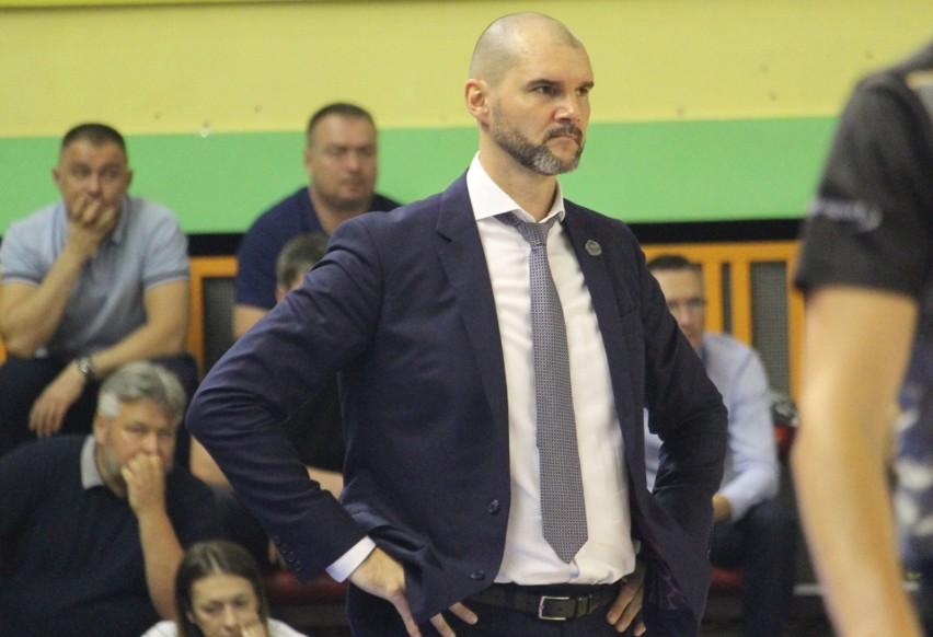 Trener Robert Witka