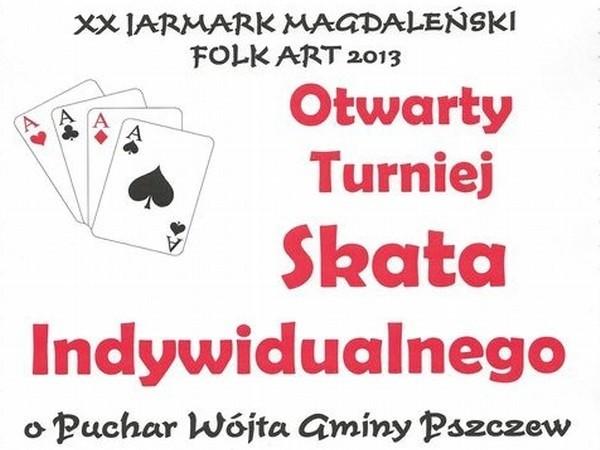 W sobotę podczas pierwszego dnia Jarmarku Magdaleńskiego w Pszczewie rozegrany zostanie doroczny turniej skata.