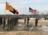 Żołnierze amerykańscy oficjalnie rozpoczynają misję w Polsce