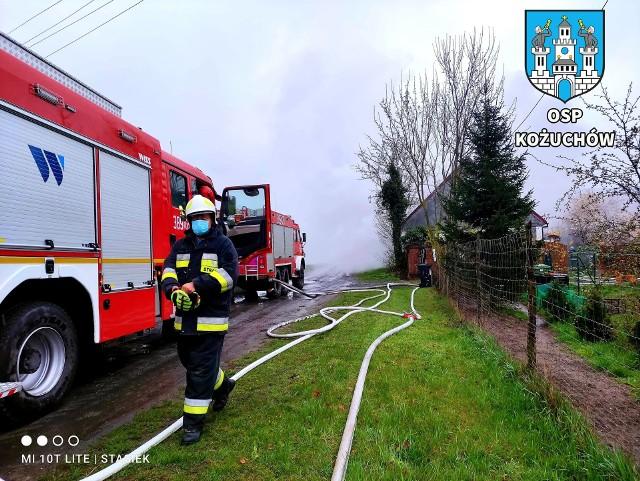Pożar we wsi Mirocin Średni. Potrzebna jest pilna pomoc poszkodowanym mieszkańcom.