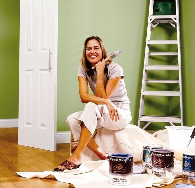 Odpowiednia dobranie narzędzi do malowania ułatwi nam pracę.