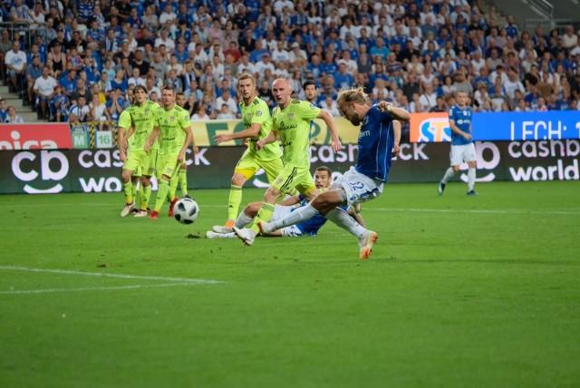 Lech Poznań z Szachtiorem Soligorsk zmierzył się w wygranym dwumeczu, w kwalifikacjach Ligi Europy, niespełna dwa lata temu