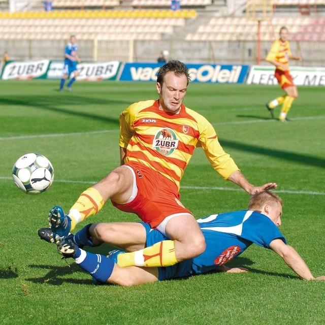Ensar Arifović poważnie potraktował występ w Młodej Ekstraklasie i pomógł Jagiellonii w zwycięstwie z Ruchem