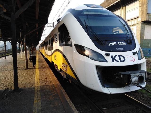 Wyszukiwarka połączeń kolejowych nie pokazuje wielu kursów Kolei Dolnośląskich w przyszłym rozkładzie jazdy
