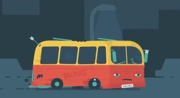 Smutny autobus: Internauci mu współczują...