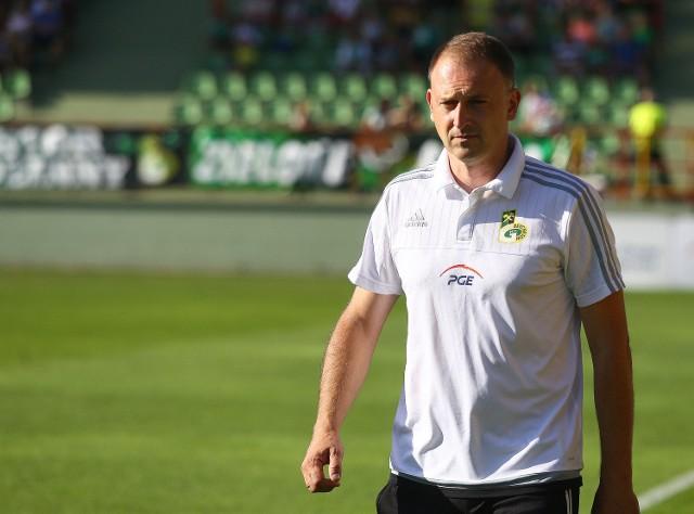 Trener Andrzej Konwiński nie ukrywa, że jego drużyna bardzo potrzebuje zwycięstwa