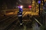 Tragedia na torach. Na ulicy Grunwaldzkiej w Poznaniu pociąg śmiertlenie potrącił 19-latka