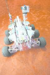 Magma2 - Łazik marsjański na targach AirTec we Frankfurcie