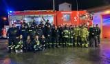 Podwiesk. Powitanie samochodu strażackiego w Podwiesku. Zobaczcie zdjęcia i wideo