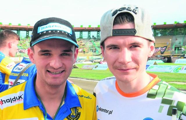 Dwaj przedstawiciele lubuskich klubów, którzy powalczą o tytuł: Bartosz Zmarzlik i Patryk Dudek.