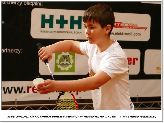 Krajowy Turniej Badmintona w Suwałkach