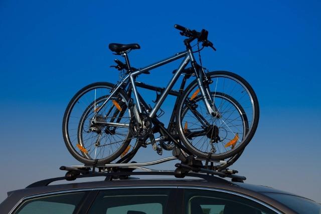 Zgubiony rower był przewożony na bagażniku dachowym