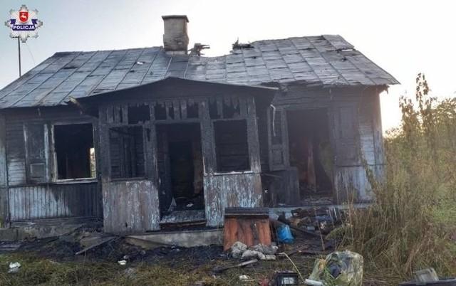 Dwie osoby zginęły w pożarze domu z 8 października 2020 r.
