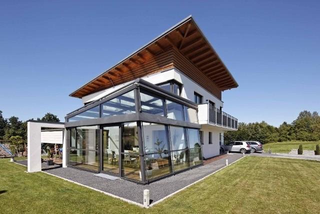 Dom, który daje poczucie bliskości z naturą (ZDJĘCIA)Projekt domu, który daje poczucie bliskości z naturą (ZDJĘCIA)