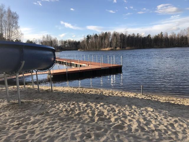 Zrewitalizowane kąpielisko w Nowogrodzie Bobrzańskim. Koszt inwestycji to około 2 mln zł.