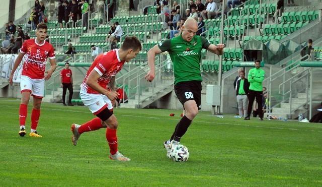 Walcząca o ligowe podium Stal Stalowa Wola zremisowała z KS-em Wiązownica, beniaminkiem 3 ligi 2:2. Zobaczcie zdjęcia z tego meczu.