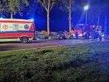 Groźny wypadek na drodze krajowej nr 11 w Boninie koło Koszalina. Cztery osoby w szpitalu, sprawca pod wpływem alkoholu [ZDJĘCIA]