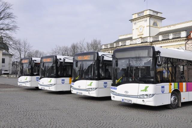 Nowe autobusy MZK w Łowiczu