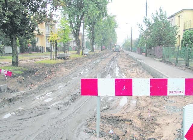 Od Starogardzkiej do Ludwikowo ulica Saperów jest zamknięta