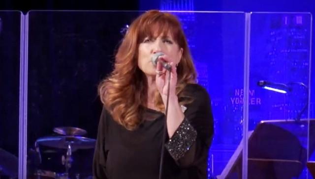 Gwiazdą wieczoru była znana radomska wokalistka Iwona Skwarek.