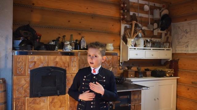 8-letni Patryk Domagała jest uczniem 1 klasy Szkoły Podstawowej w Drogomyślu w gminie Strumień (powiat cieszyński).