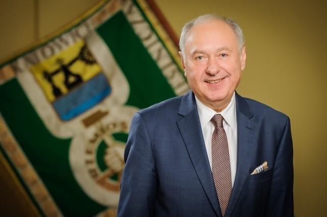 Prof. Jan Klimek, prezes zarządu Izby Rzemieślniczej oraz Małej i Średniej Przedsiębiorczości w Katowicach