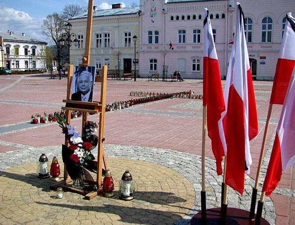Sanockie Miejsce Pamięci Ofiar Tragedii w Smoleńsku