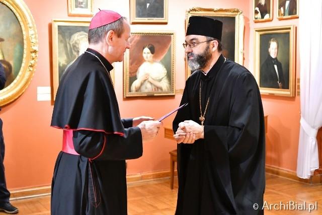 Ratusz. Spotkanie ekumeniczne biskupów Kościoła katolickiego i prawosławnego