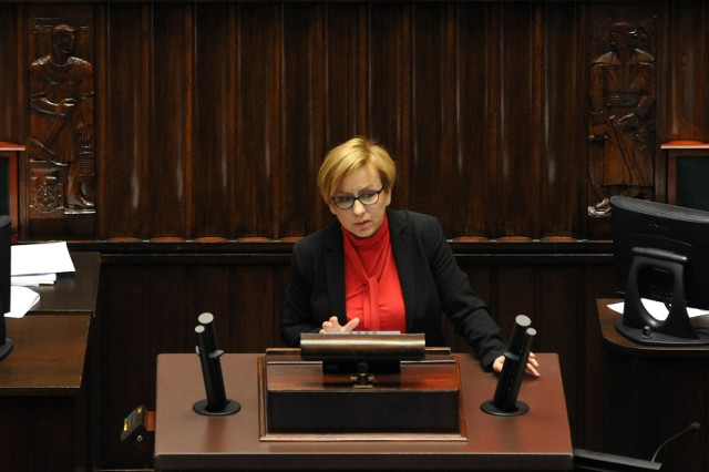 Paulina Hennig-Kloska, posłanka Nowoczesnej z Gniezna, ekonomistka, matka dwójki dzieci.