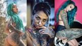 Czy dziewczyna może dobrze wyglądać z tatuażem? [SZOKUJĄCE WZORY]