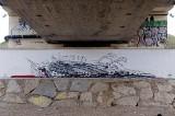 Stary Sącz. Krwawy mural nad Dunajcem. Daje do myślenia [ZDJĘCIA]