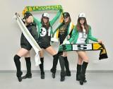 Cheerleaderki z Wrocławia w barwach Falubazu Zielona Góra