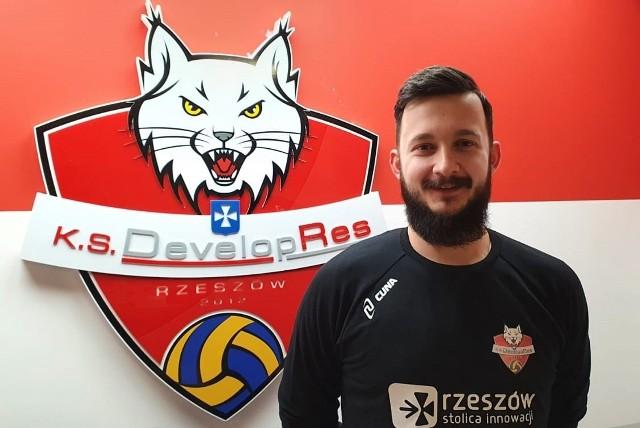Michał Mazur dołączył do KS Developres Rzeszów