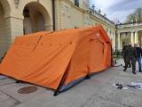 Majówkowe szczepienia przed pałacem Branickich. Nie trzeba się rejestrować!