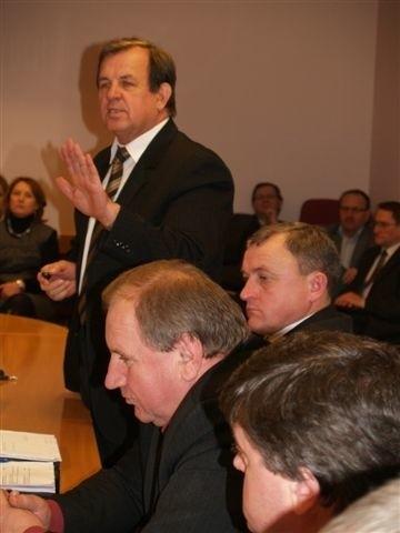 Radny K. Gołębiewski nie poparł projektu budżetu na 2010 rok