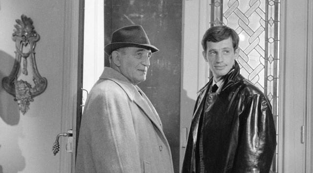 Jean Paul  Belmondo (z prawej) w jednym z filmów