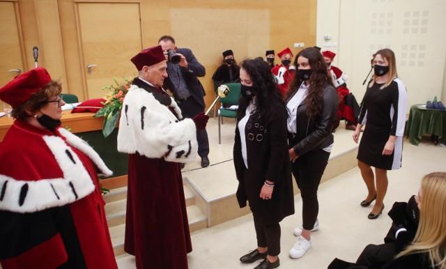 09.10.2021 rzeszow uroczysta inauguracja nowy rok akademicki wspia studenci fot krzysztof kapica