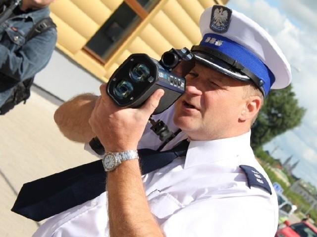 dostała policja w Łomży