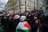 Propalestyńskie demonstracje w miastach Europy. Były starcia z policją