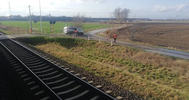 Do zdarzenia doszło we wtorek 25 lutego na trasie kolejowej między Inowrocławiem a Janikowem.