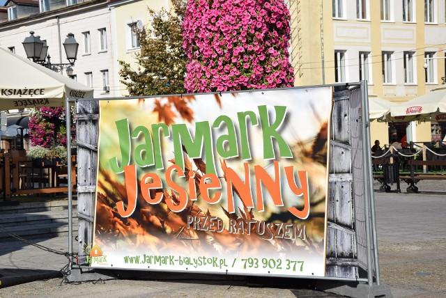 Rozpoczął się Jesienny Jarmark przed Ratuszem!