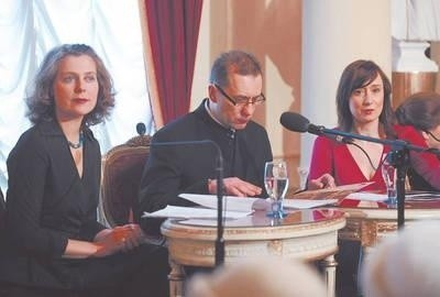 Joanna Mastalerz, Rafal Dziwisz, Dominika Bednarczyk Fot. Wacław Klag