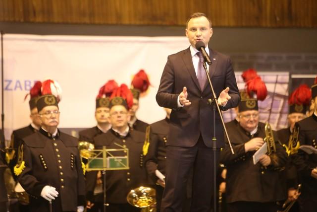 Prezydent Andrzej Duda w Zabrzu