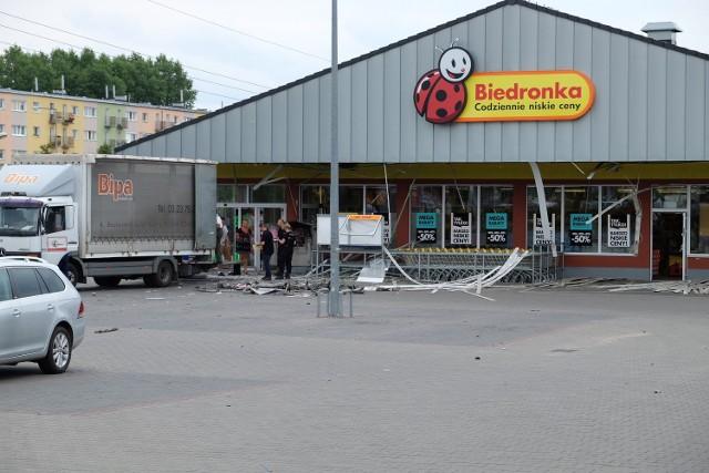 Poznań: Wysadzili w powietrze bankomat przy ul. Bułgarskiej