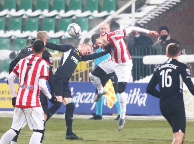 W poprzedniej rundzie Pucharu Polski Cracovia pokonała Wartę Poznań 1:0
