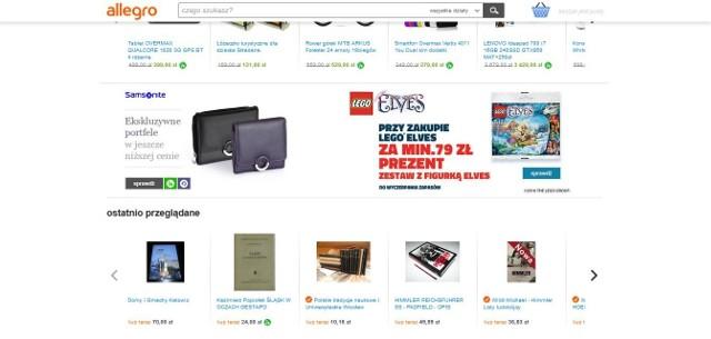 Portal aukcyjny Allegro.pl zdecydował się on na zniesienie opłat za wystawienie przedmiotu na aukcji
