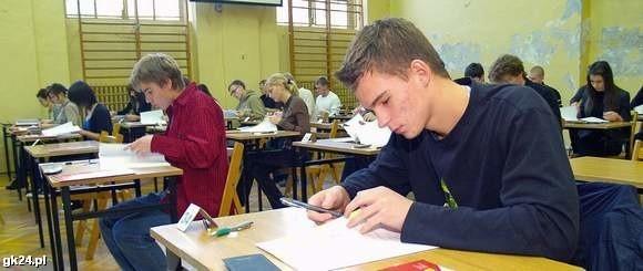 Próbna matura z matematyki w Koszalinie