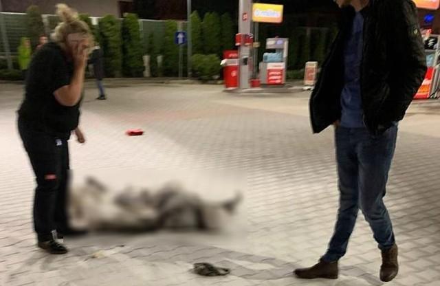 55-letni mężczyzna oblał się benzyną i podpalił na stacji benzynowej w Krotoszynie.