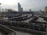 IEM 2017 Katowice 4.3.2017: Fani CS:GO stoją w gigantycznych kolejkach od samego rana